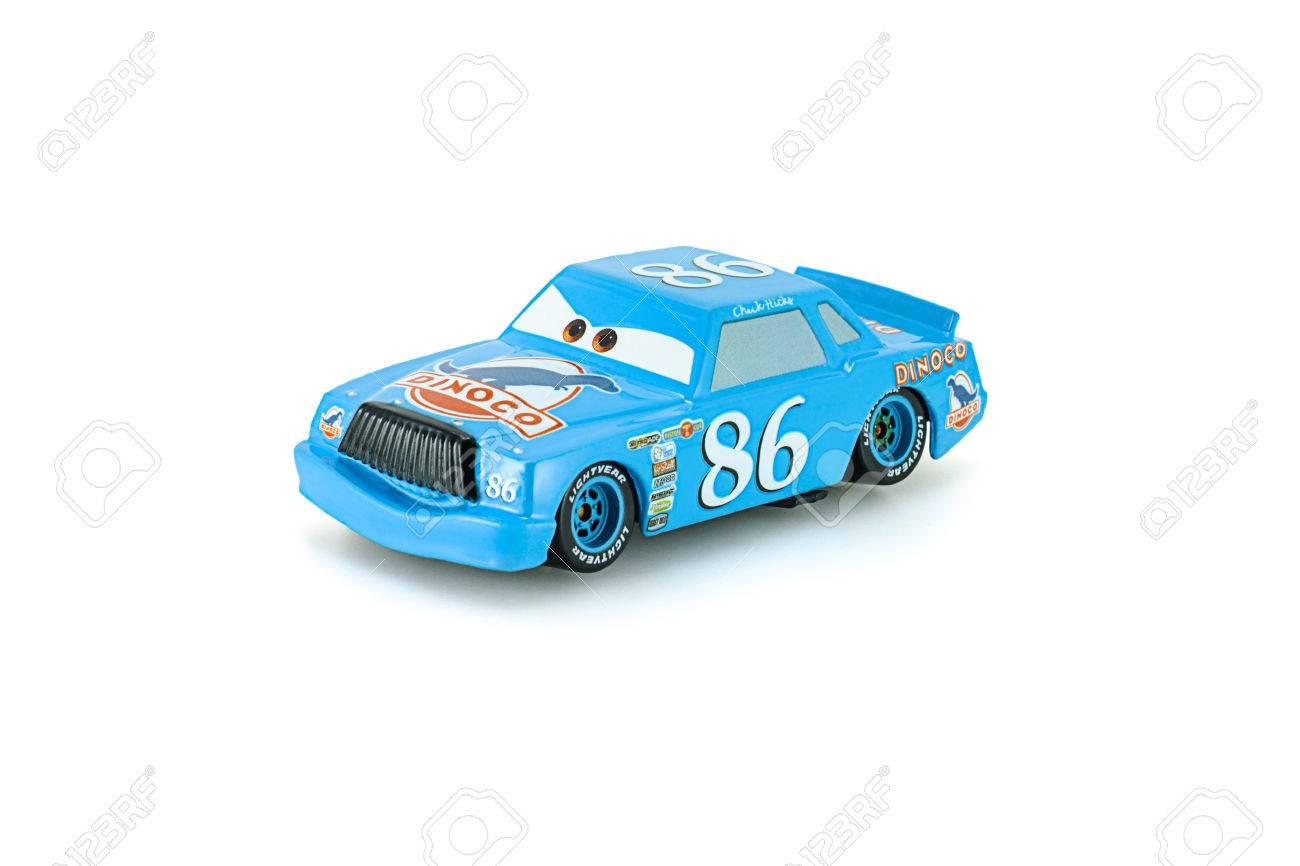 BangkokThaïlande Février 082015Dinoco Disney Pixar Voiture Cars Chick Jouet Des Hicks Protagoniste Longs MétragesUne Collection Un De b7gyYfv6