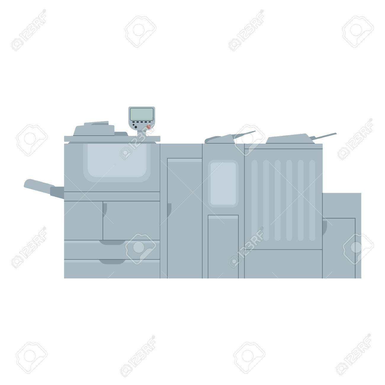 Diagram Of A Digital Printer