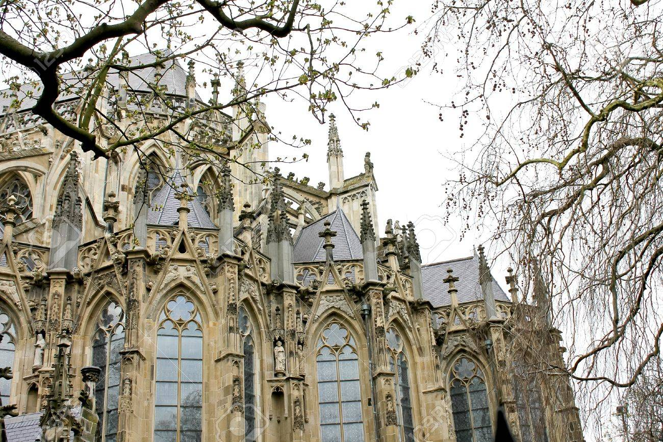 Cathedral in Den Bosch. Netherlands Stock Photo - 13643613