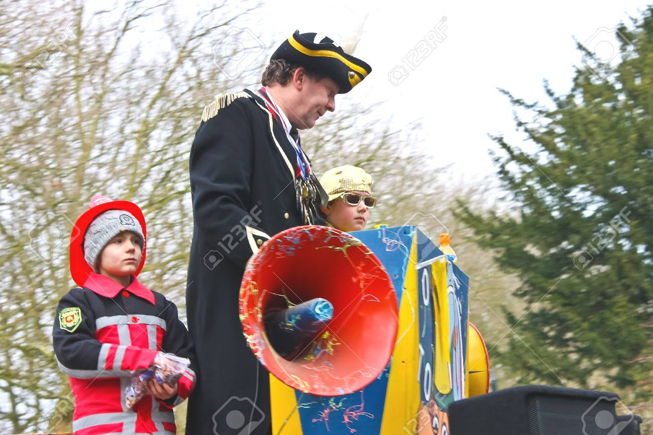 Annual Winter Carnival in Gorinchem. February 9, 2013, The Netherlands Stock Photo - 18113637