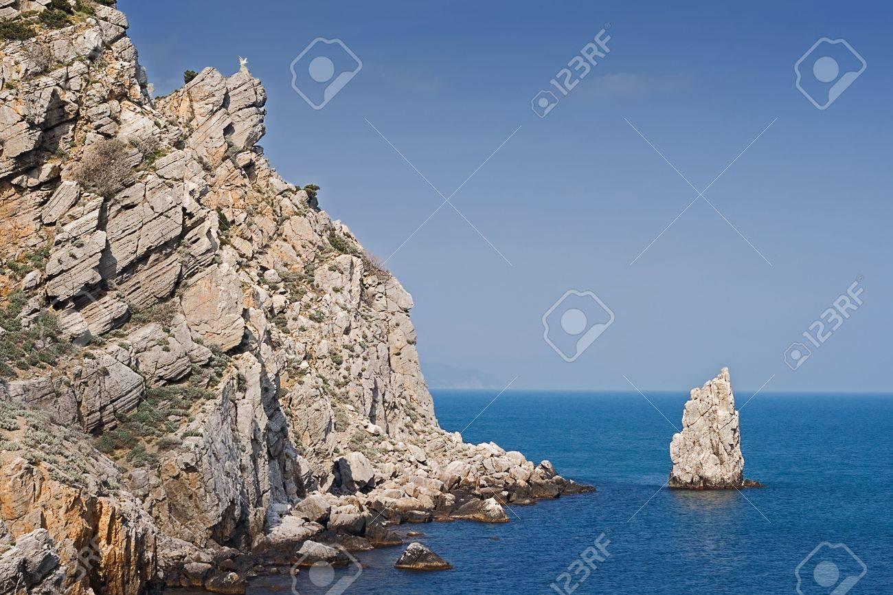 picturesque mountains and the black sea, Crimea, Ukraine Stock Photo - 4757784