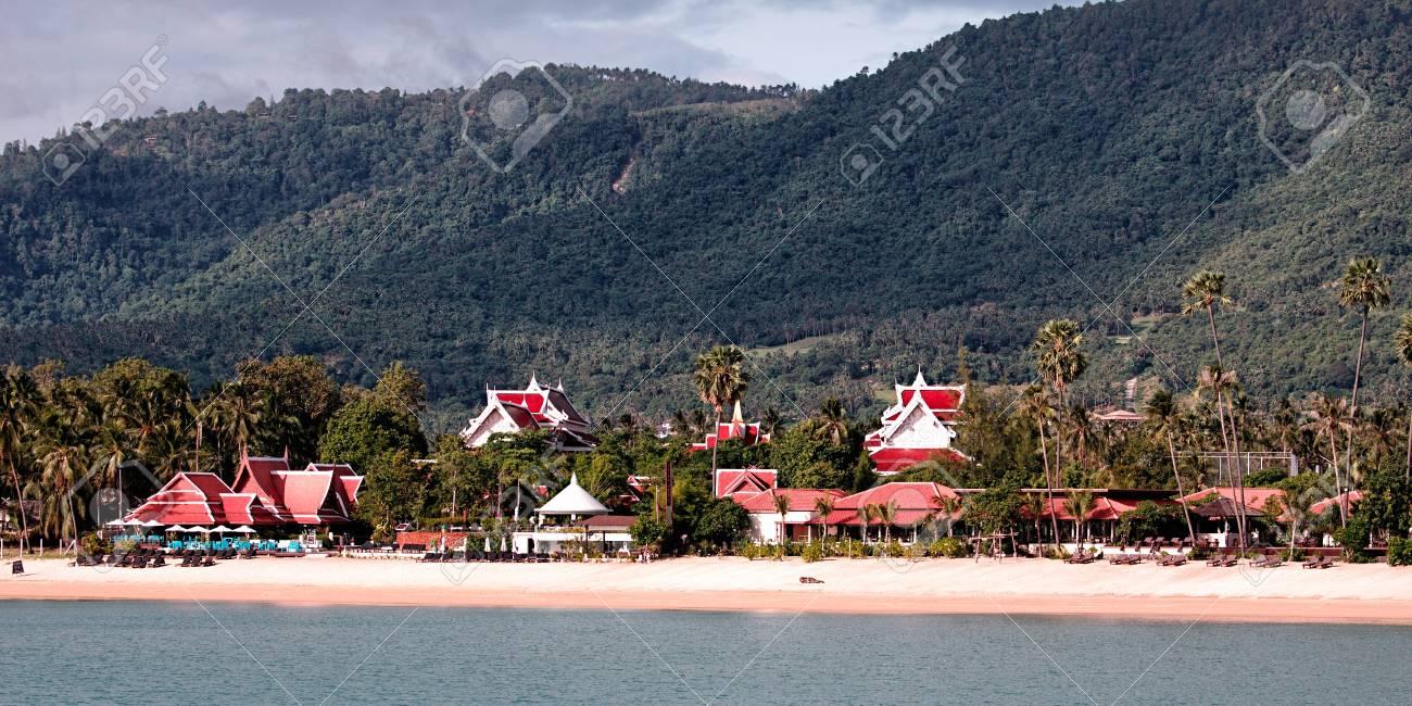 Panoramic view of Koh Tao island, Thailand Stock Photo - 11914264