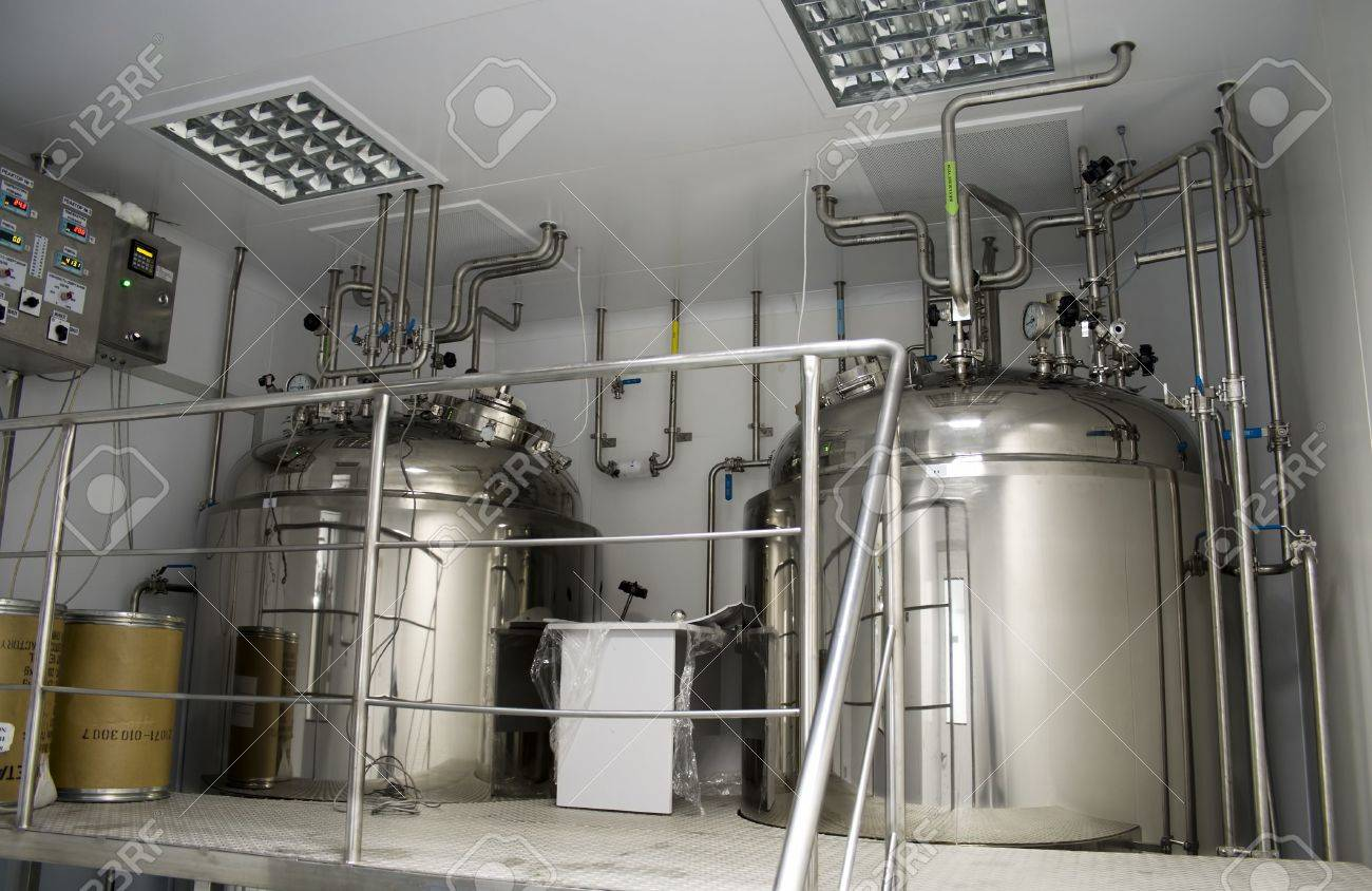 Clean Room in pharmaceutical factory Stock Photo - 7573436