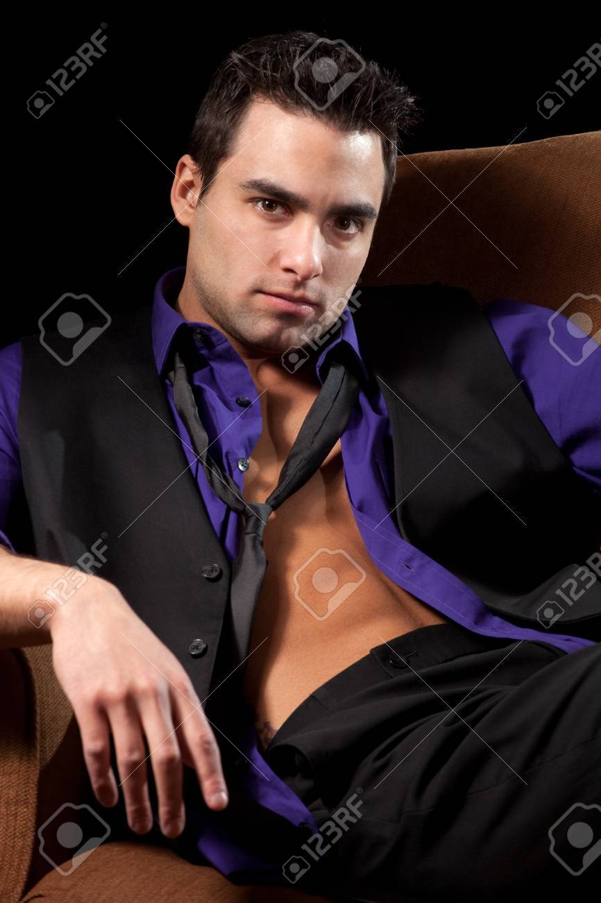 Man in Chair Stock Photo - 8829799