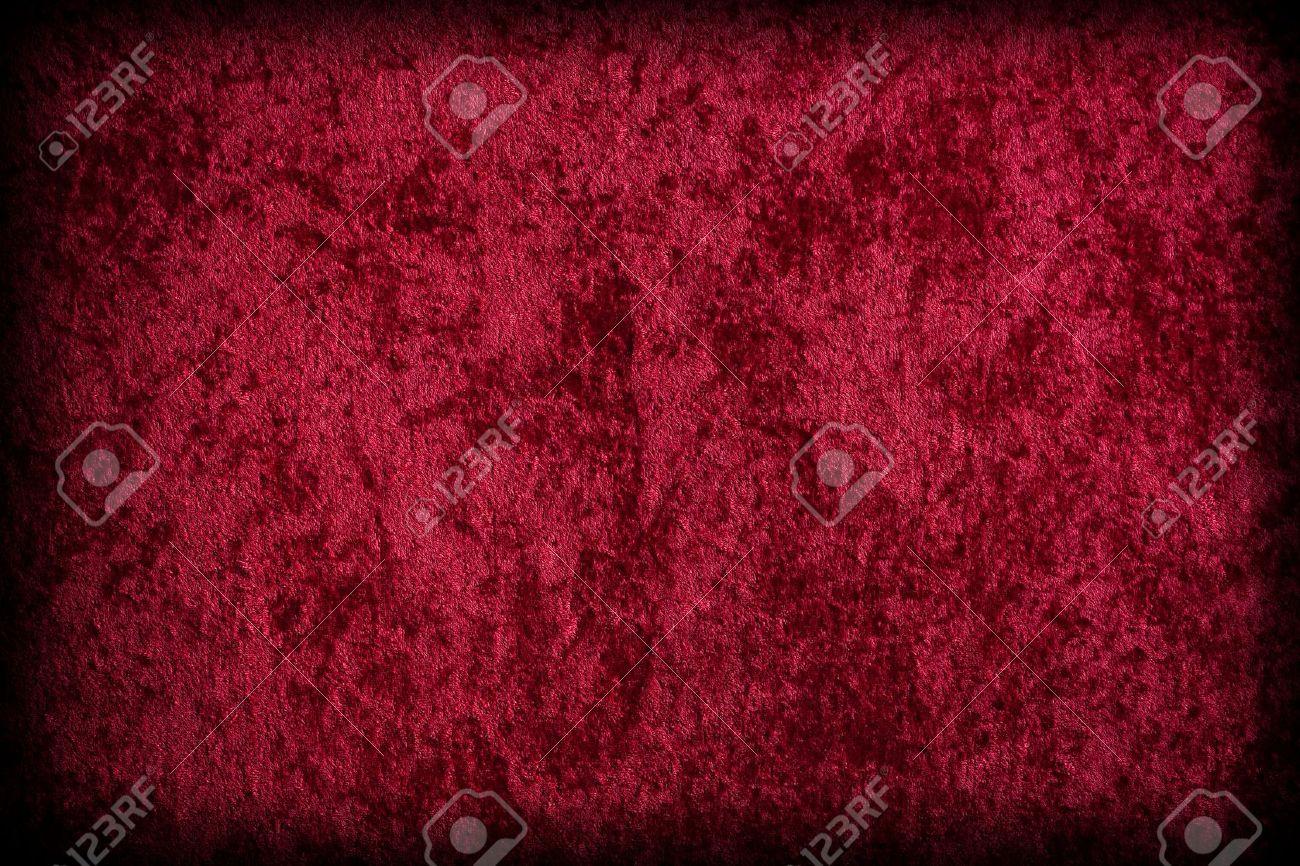 red velvet like fabric stock photo 9357000