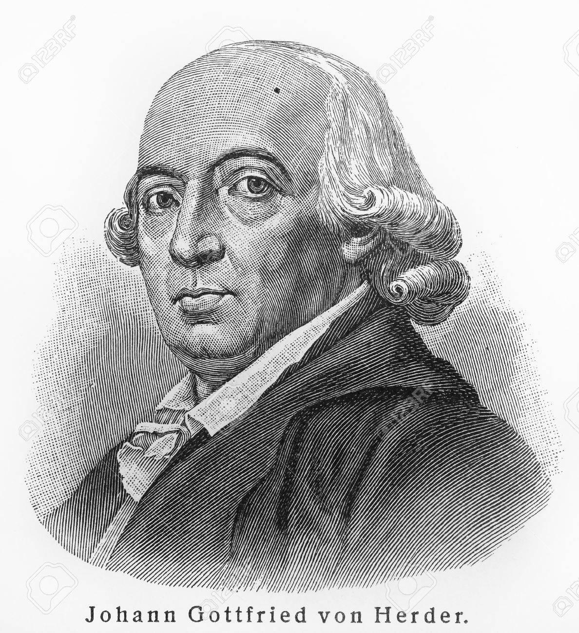 Johann Gottfried Herder language