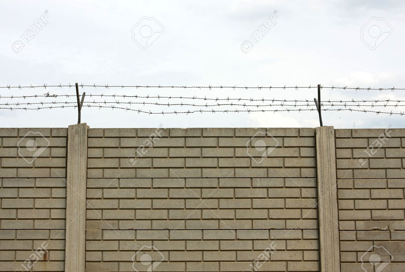 Barbed wire fence Stock Photo - 12076996