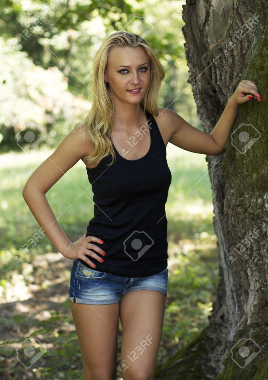 Pictures of blonde woman — 11