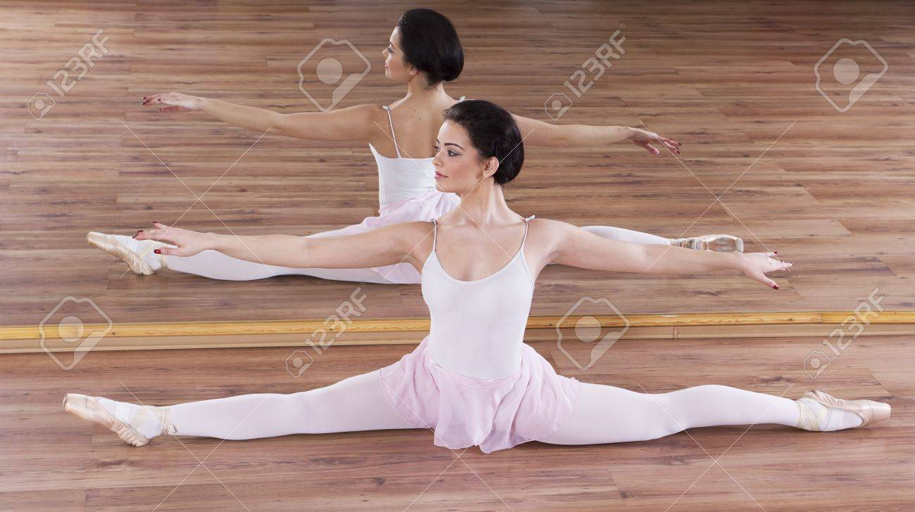 Training ballerina Stock Photo - 17416420
