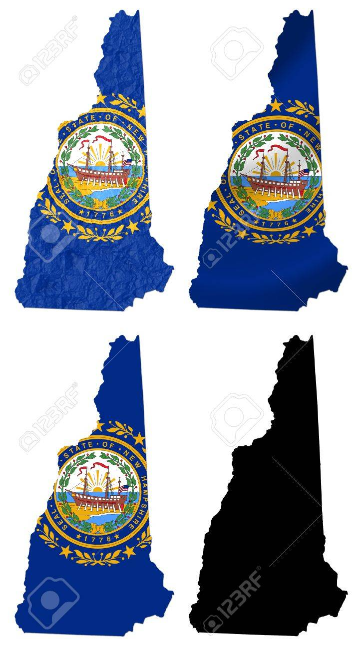 Us Map States New Hampshire Maps Of USA Hampshire New Hampshire - New hampshire in us map
