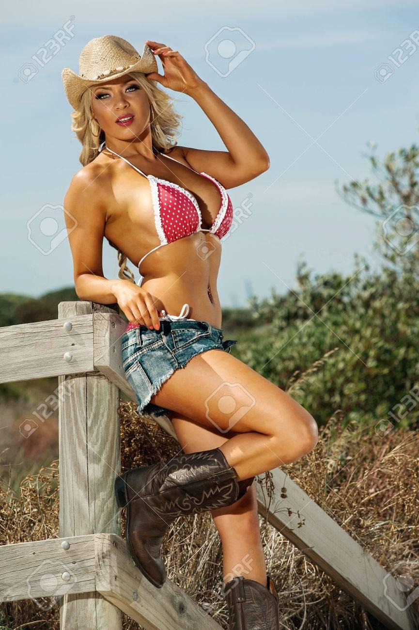 Sexy girl cow
