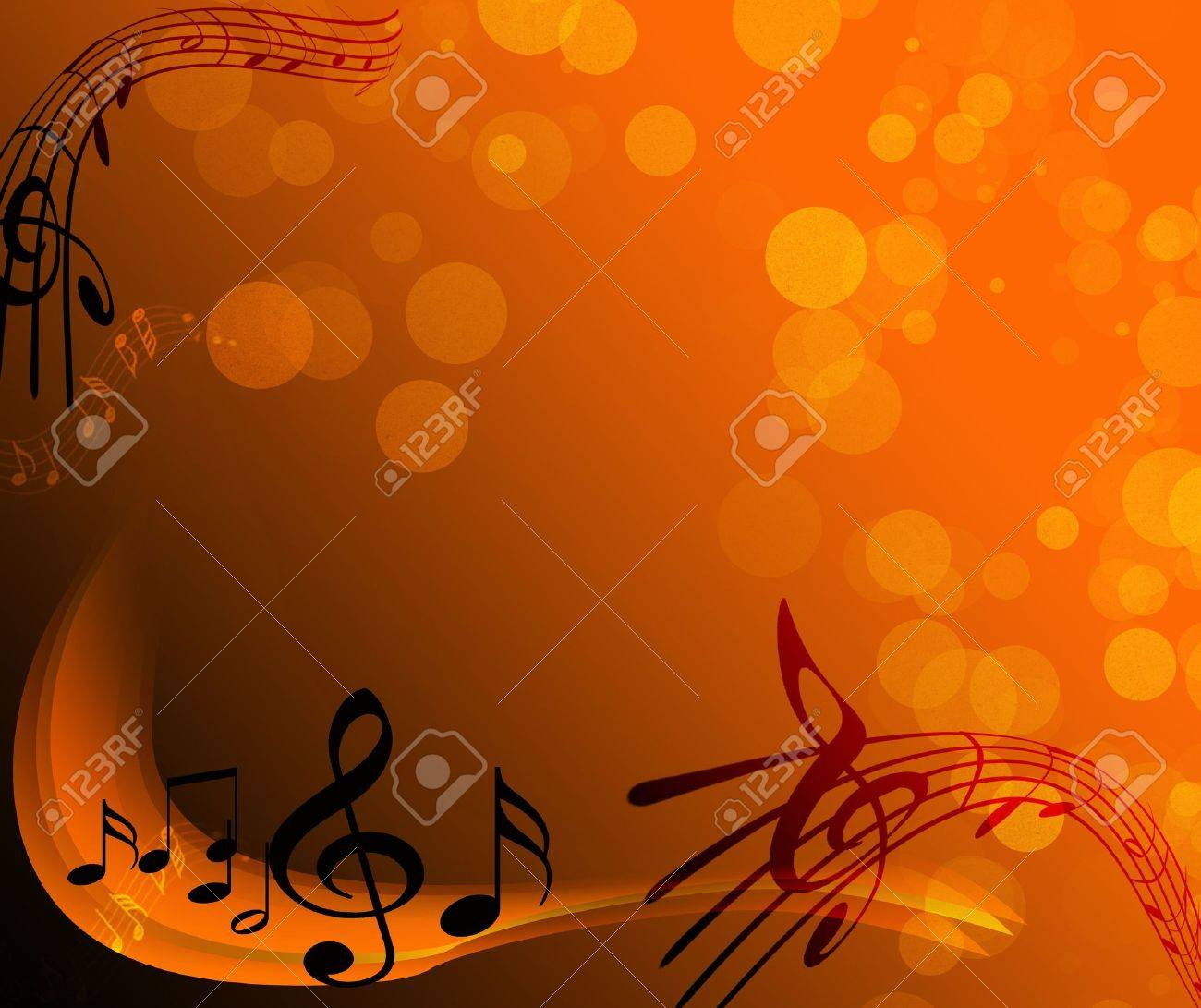 notes - music Stock Photo - 8068902
