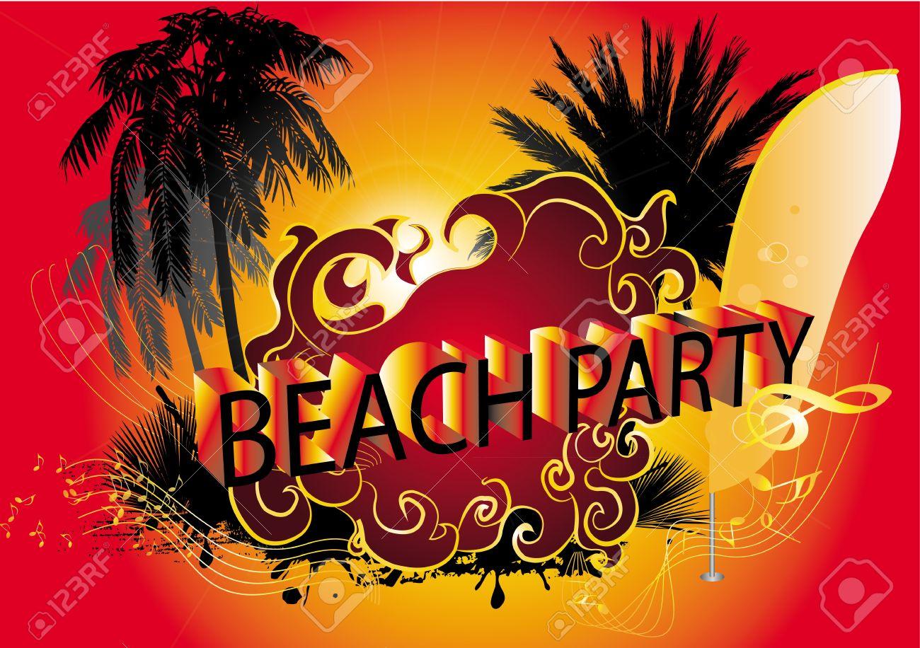 Beach Background Clipart Beach Party Background Beach