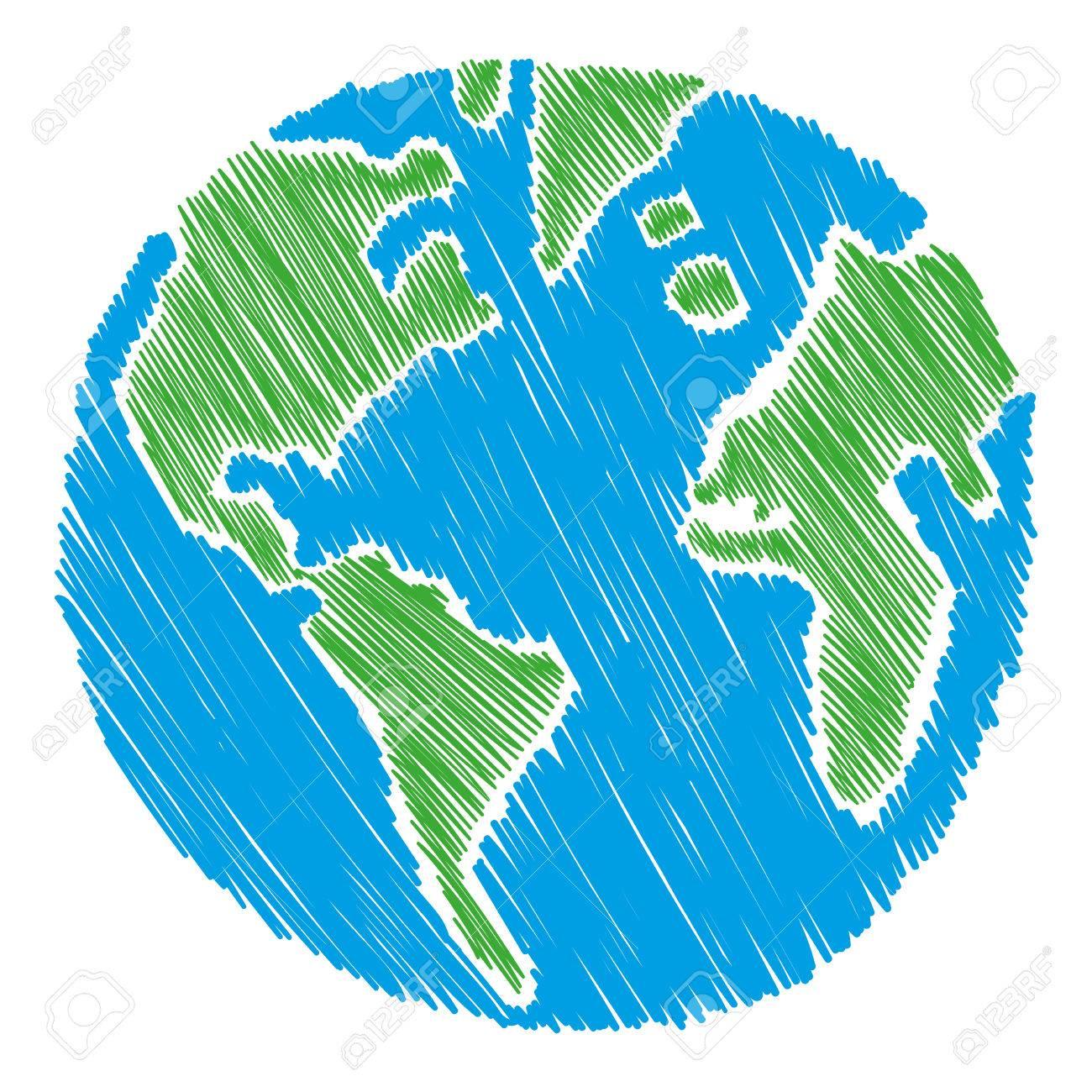 earth vector illustration royalty free cliparts vectors and stock rh 123rf com vector earth logo vector earthquake