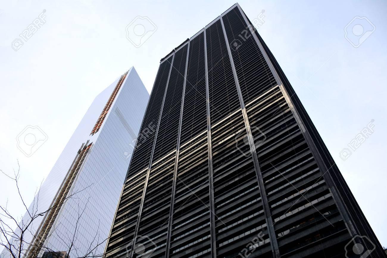 Modern Architecture New York modern architecture in manhattan, new york stock photo, picture