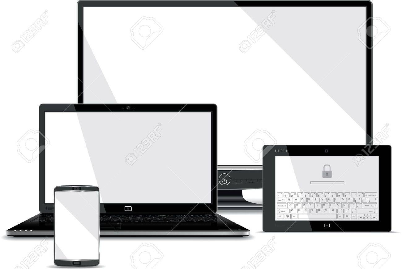 Screens Collection - Smart Phone, Laptop, Tablet, PC Monitor - 21737274