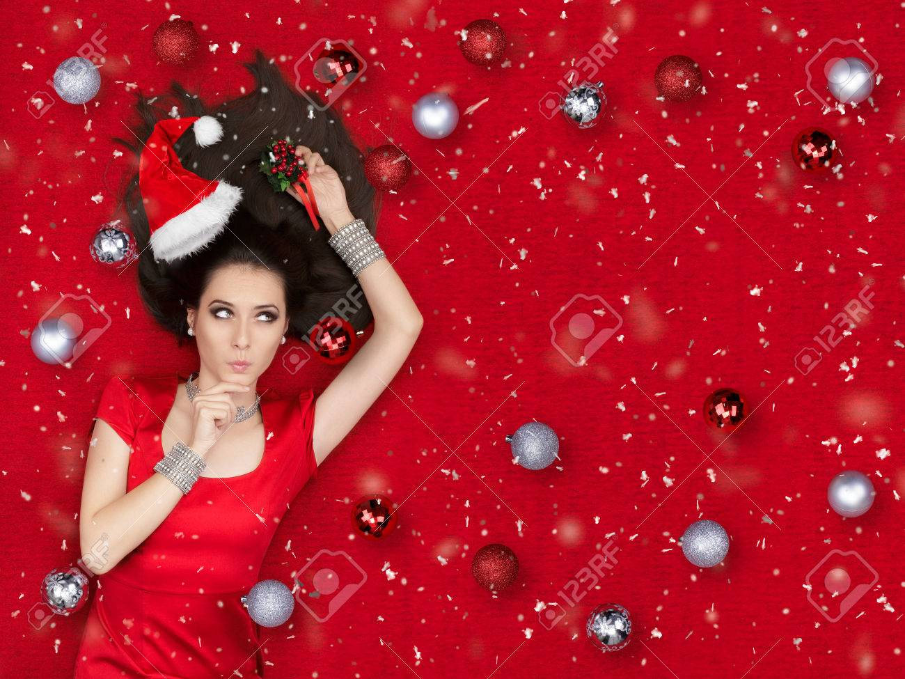 Weihnachten Mit Fantasy.Stock Photo