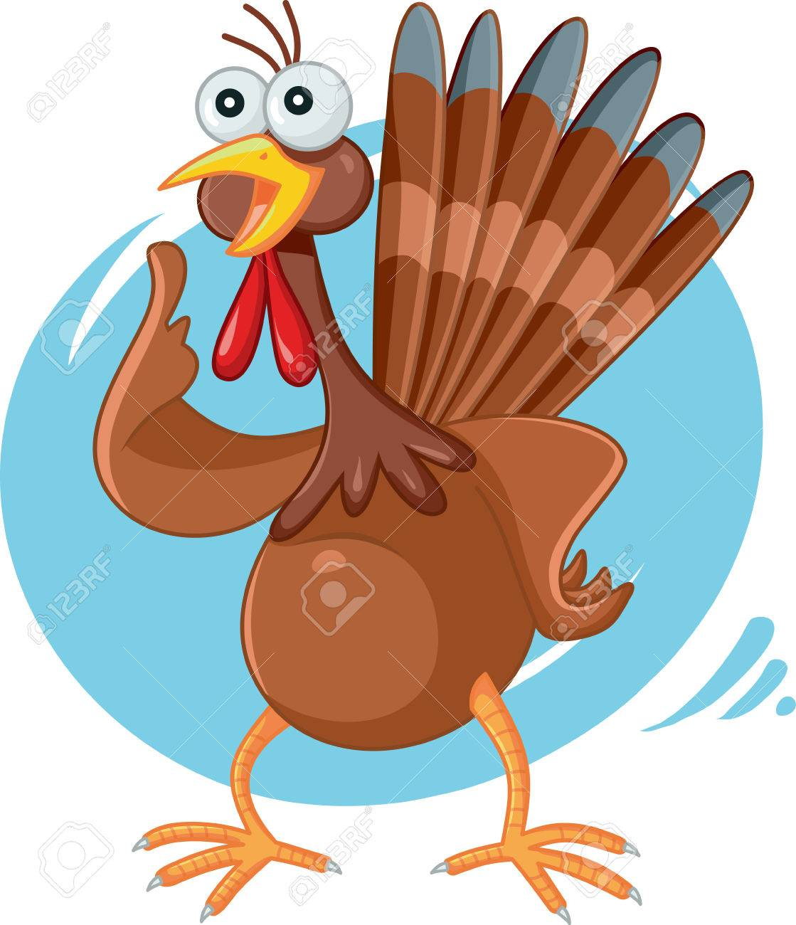Clipart of a Black and White Scared Turkey Character - Royalty Free Vector  Illustration by Cory Thoman #1217628