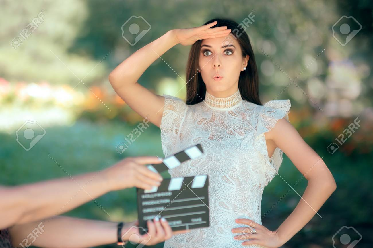 Funny Actress Auditioning for Movie Film Video Casting - 93984807