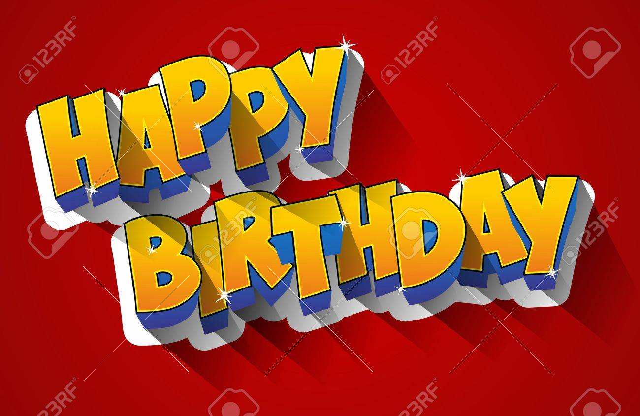 Happy Birthday Greeting Card Royalty Free Cliparts Vectors And – Latest Birthday Greeting Cards