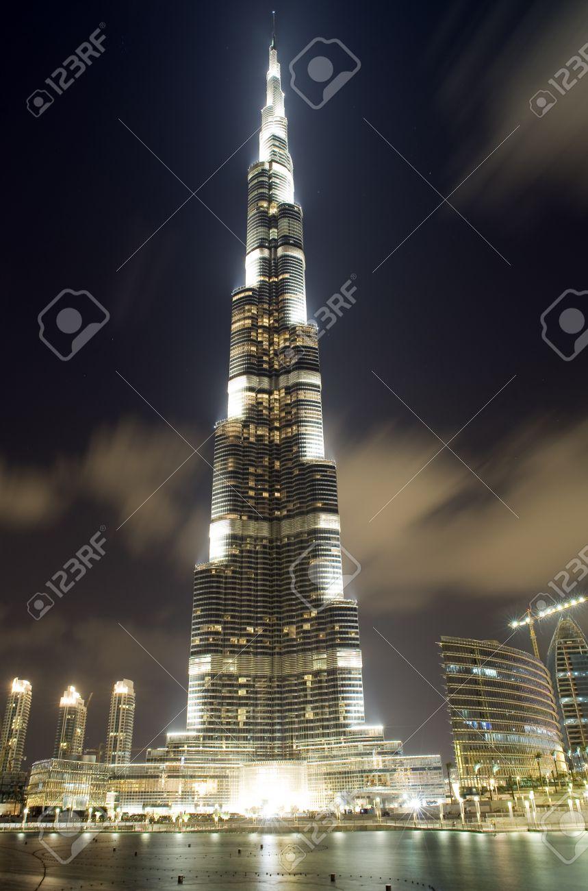 dubai emiratos rabes unidos de enero de burj khalifa la inauguracin de