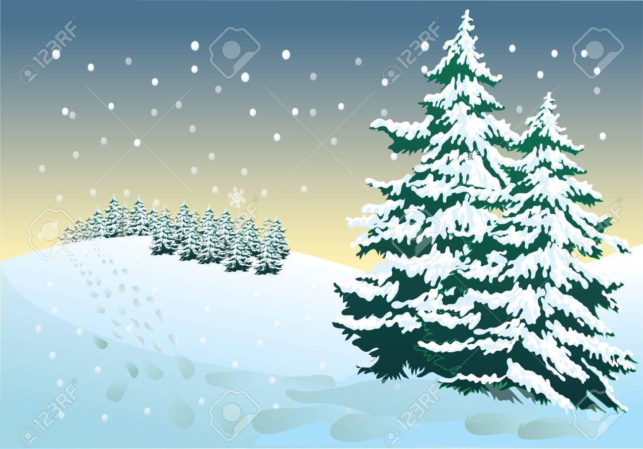 winter night Stock Vector - 10426907