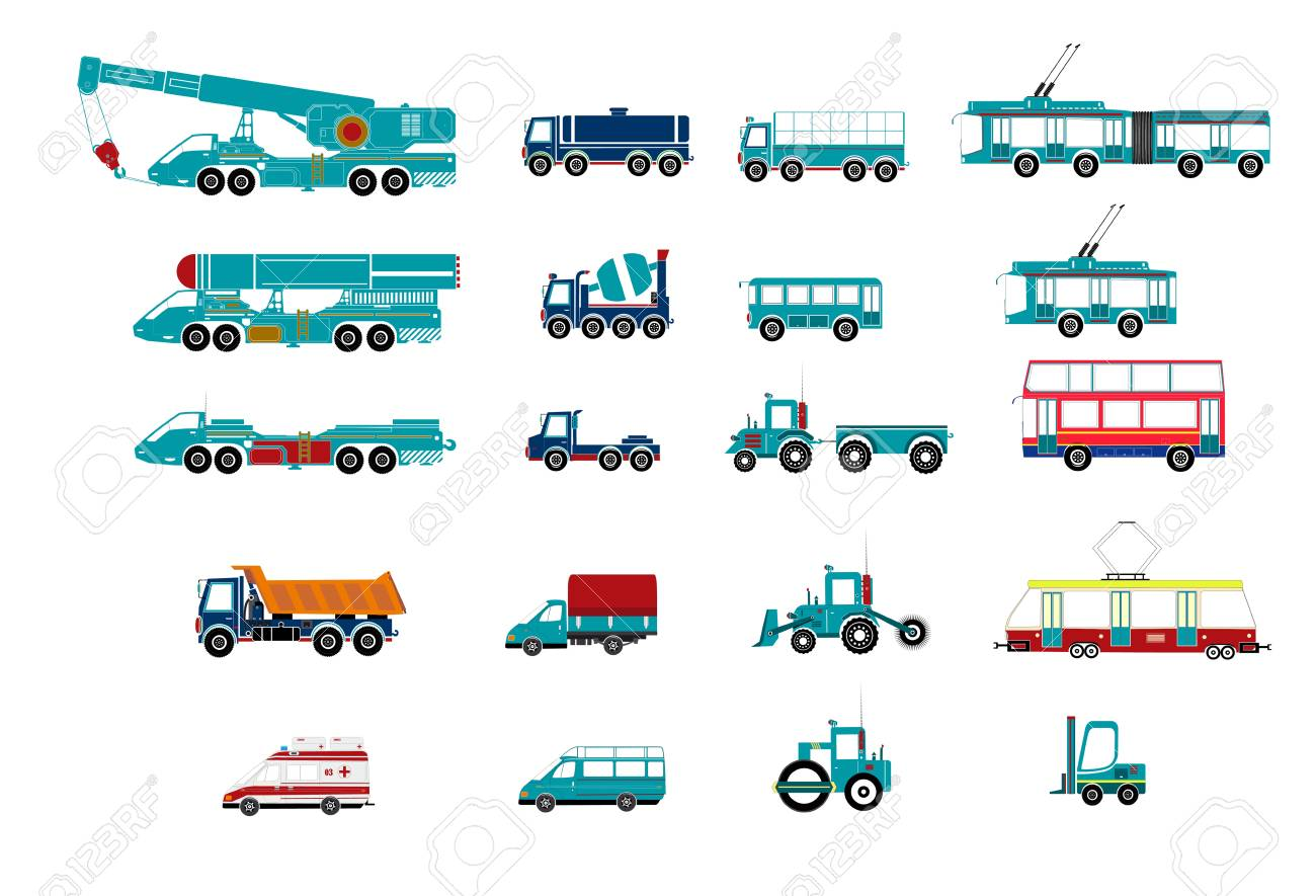 Transport Stock Vector - 19266624
