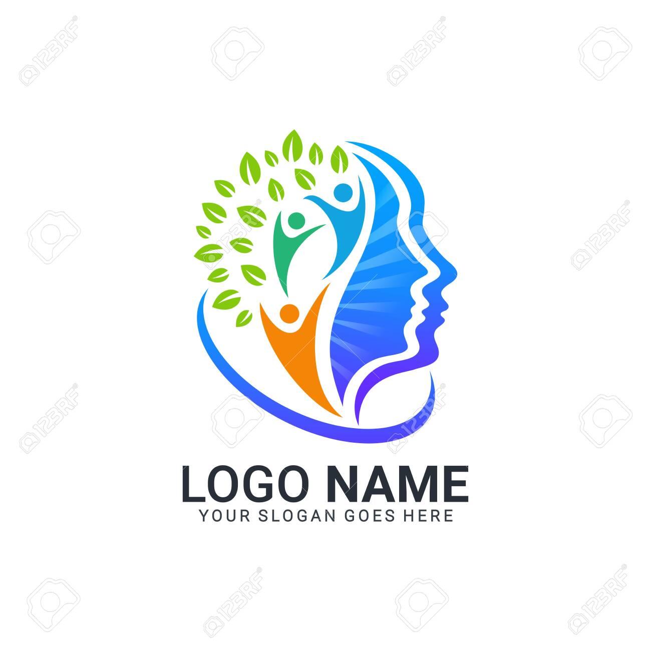 Abstract digital technology symbol logo design.Modern dditable logo design - 130991900