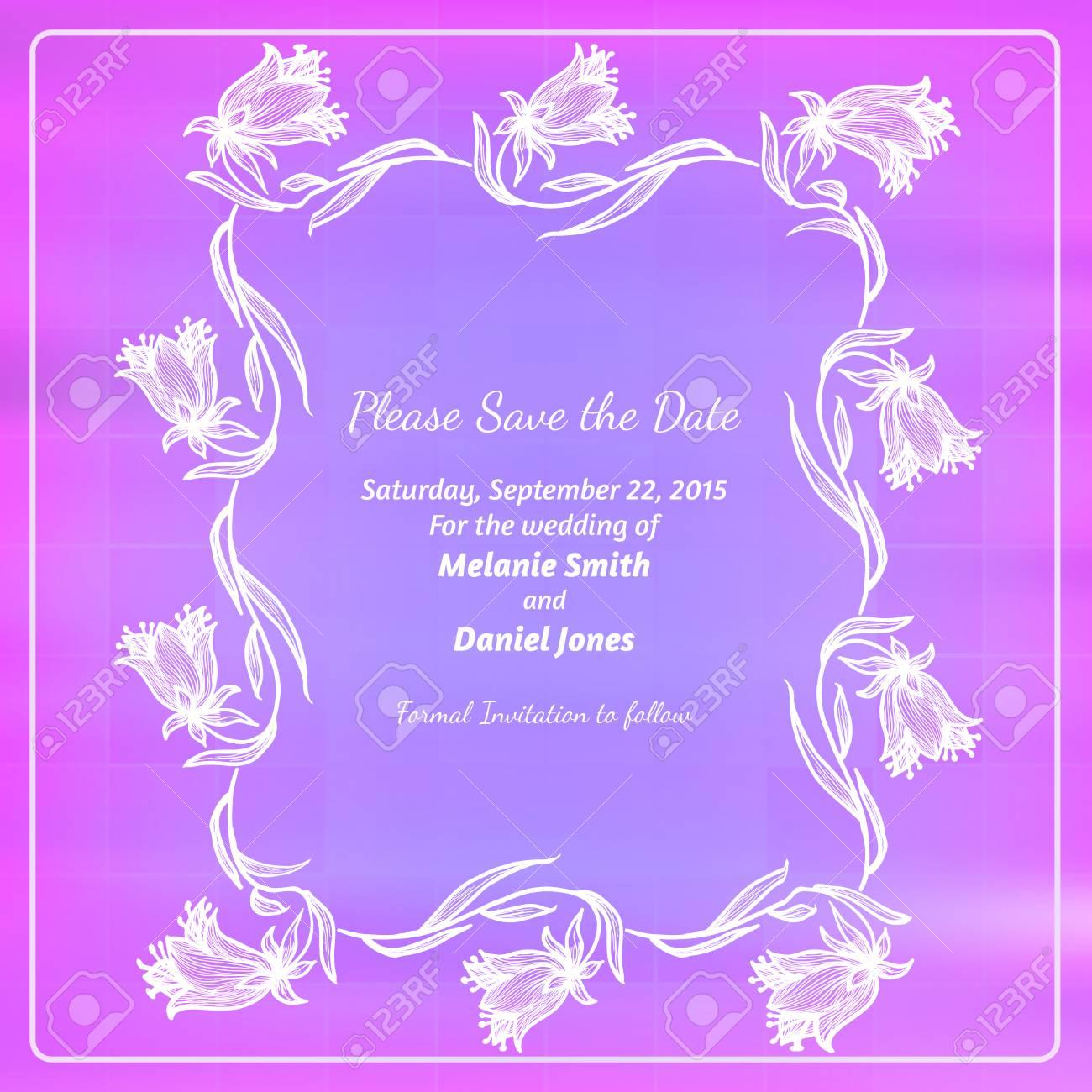 creative colorful decorative design for invitations template