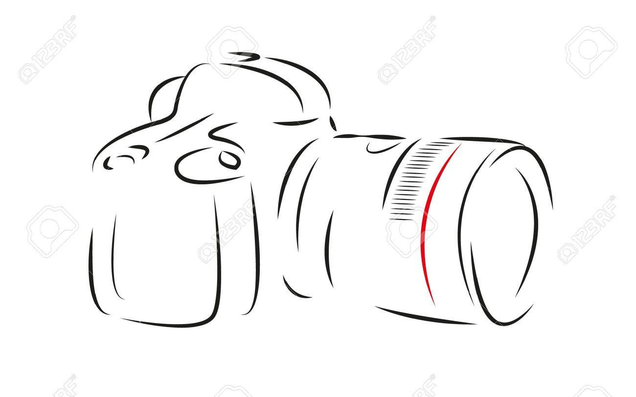 Digital Camera,draw Royalty Free Cliparts, Vectors, And Stock ...