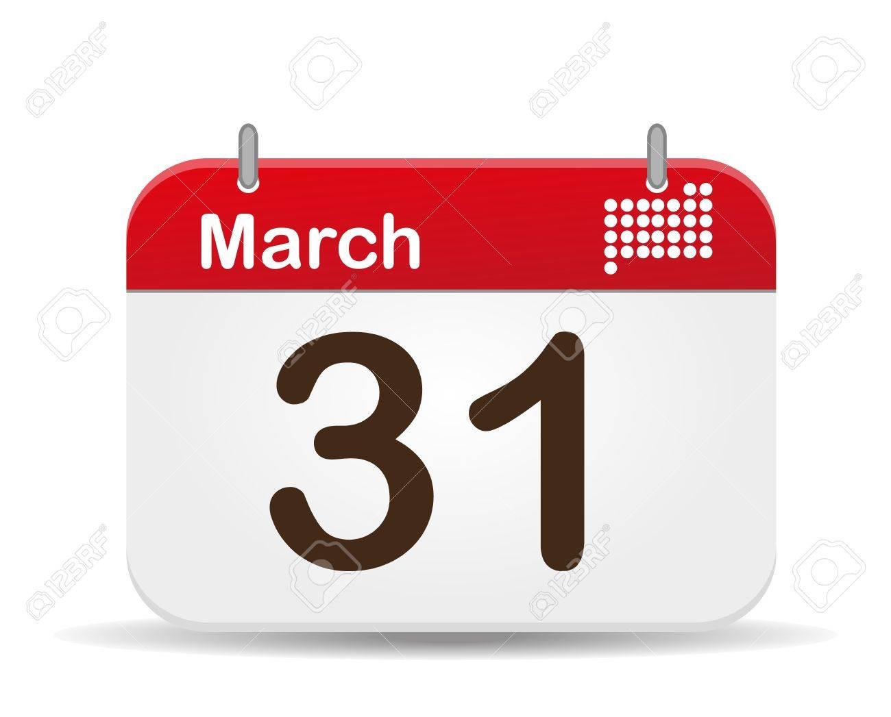 3 月 31 日カレンダー、国際惑星...