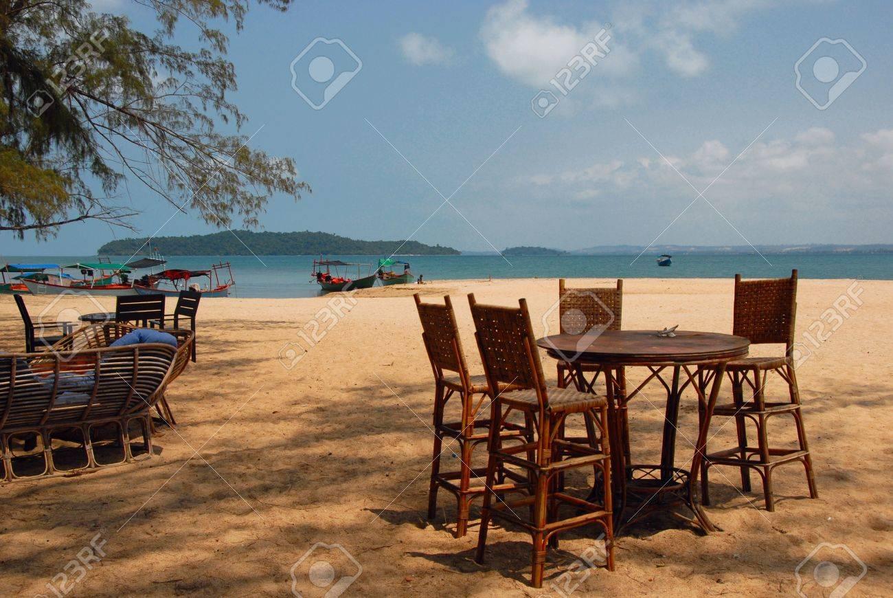 caribbean island beach resort furniture for rest stock photo 4908996 caribbean furniture