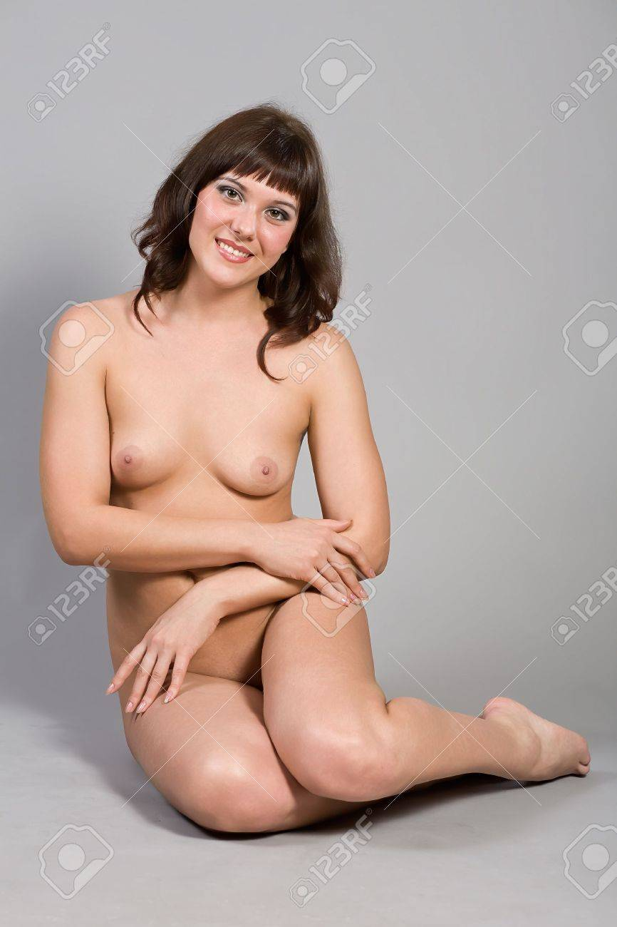 Portrait of the young nude woman Stock Photo - 12741187