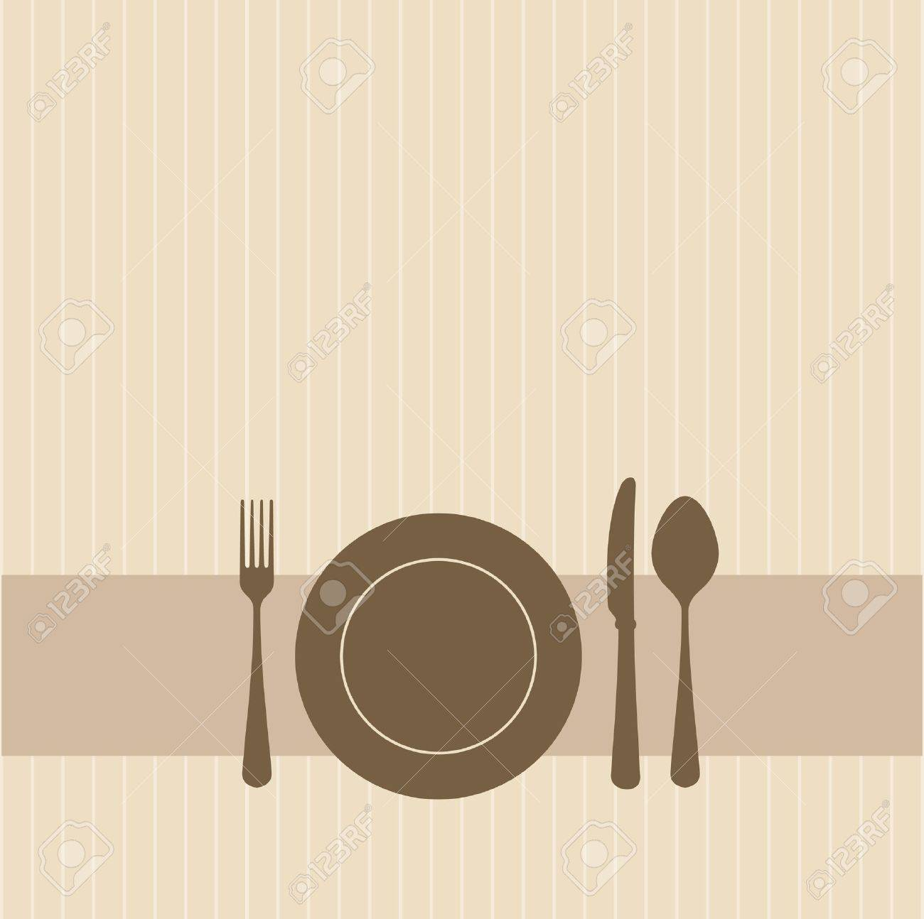 Brown invitation to a party Stock Vector - 9840945