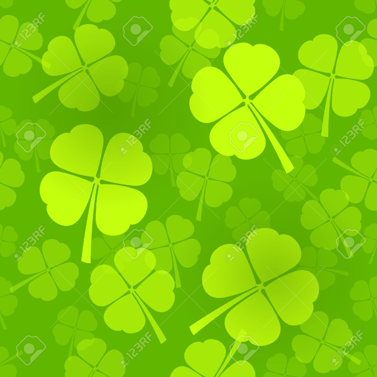 four leaf clover pattern royalty free cliparts vectors and stock