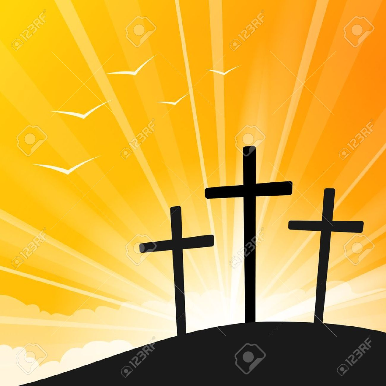 243 Easter Crosses Stock Vector Illustration And Royalty Free ...