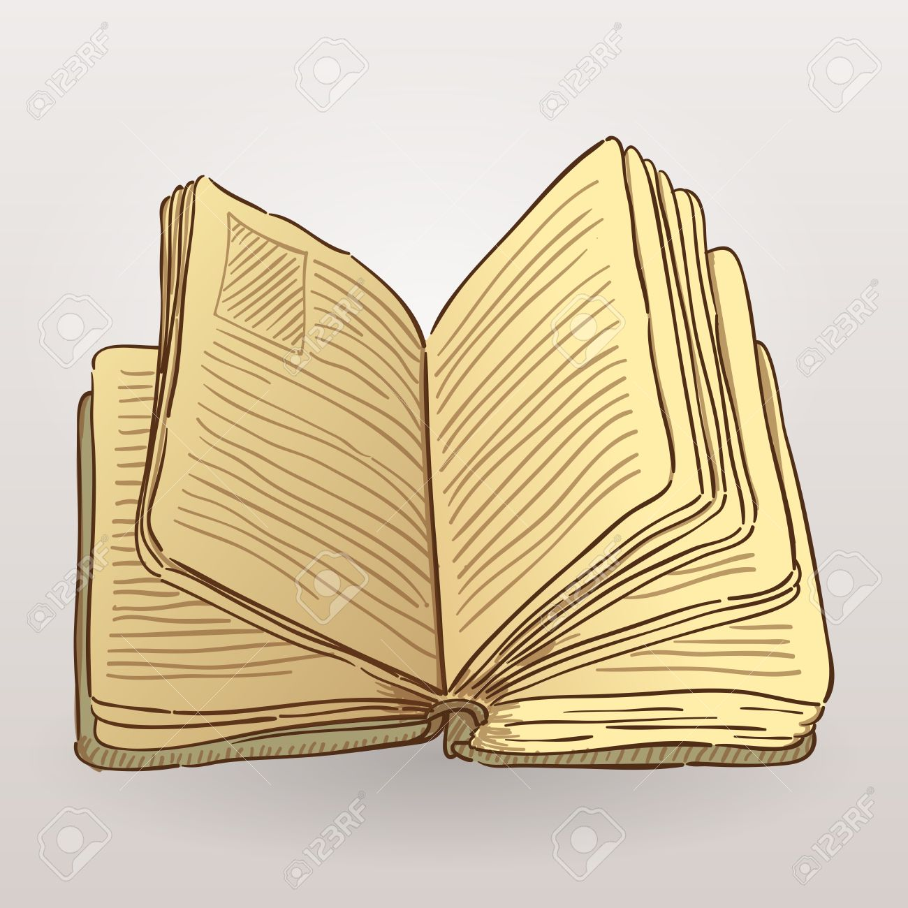 Book Illustration Stock Vector - 17924526