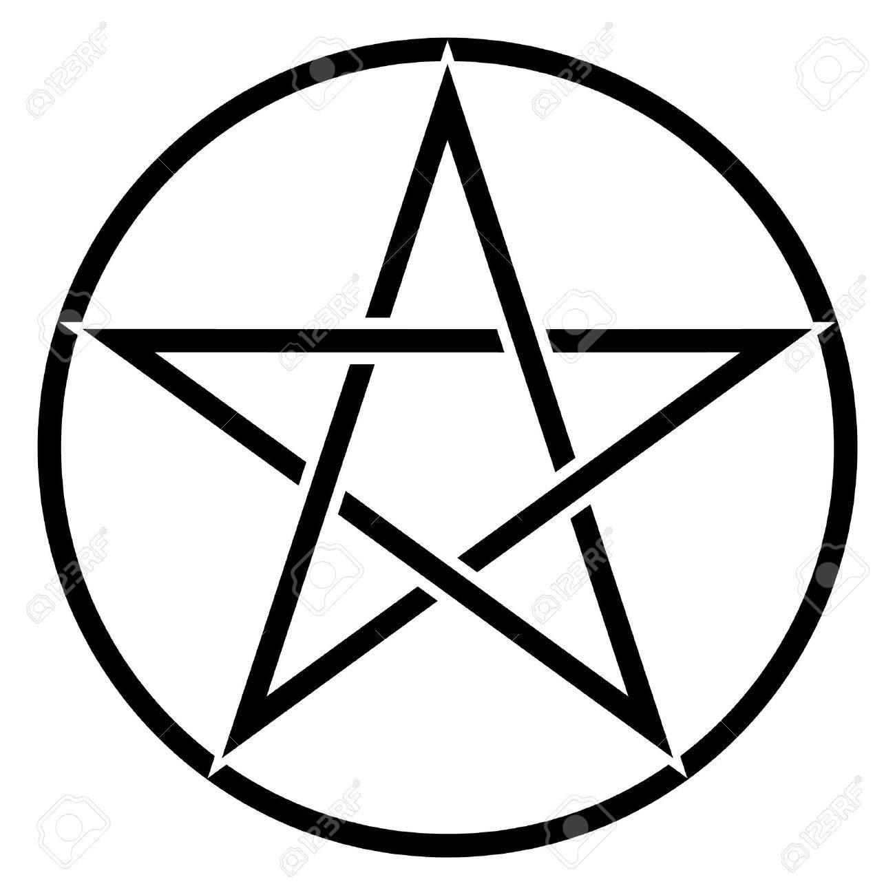 pentagram symbol royalty free cliparts vectors and stock rh 123rf com pentagram vector art pentagram vector art