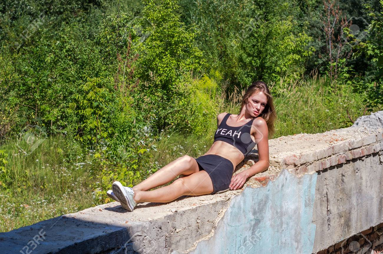 Sexy Teenager-Bild