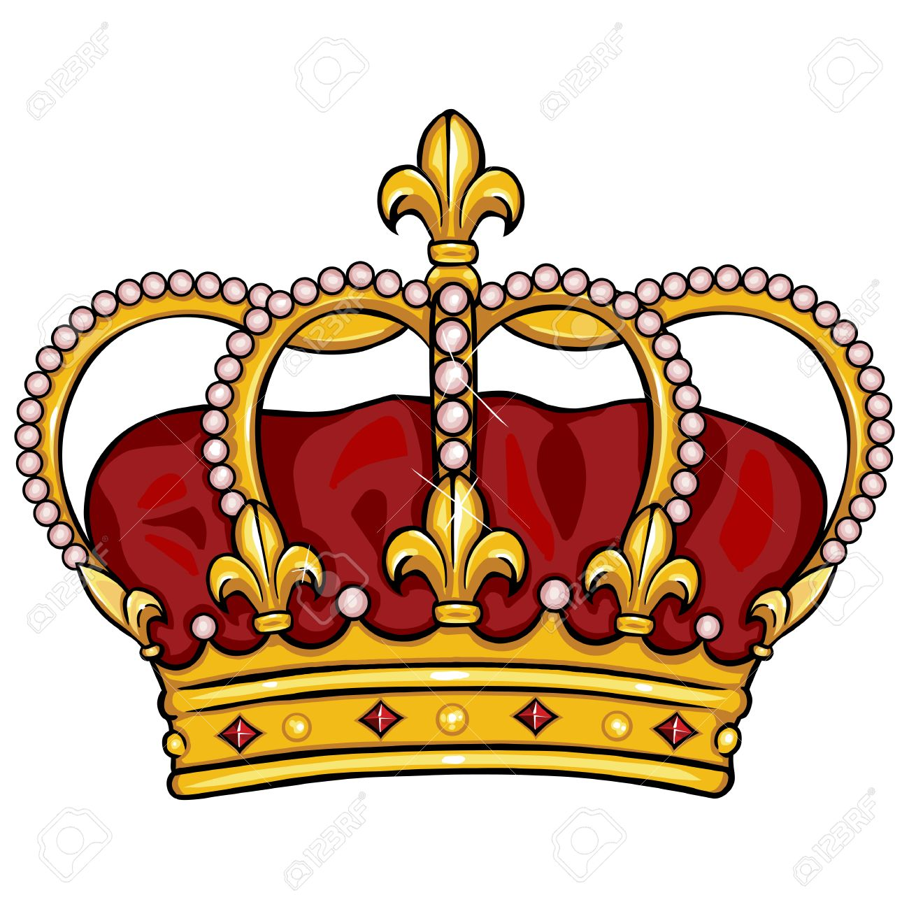 Vector Cartoon Royal Crown On White Background Royalty Free Cliparts Vectors And Stock Illustration Image 62740144 138,182 crown clip art images on gograph. vector cartoon royal crown on white background
