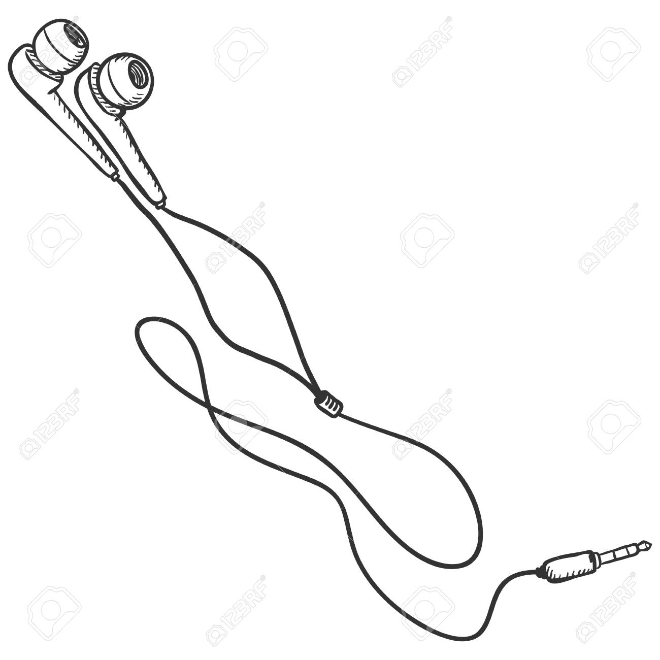 Earbuds In Ear Clip Art
