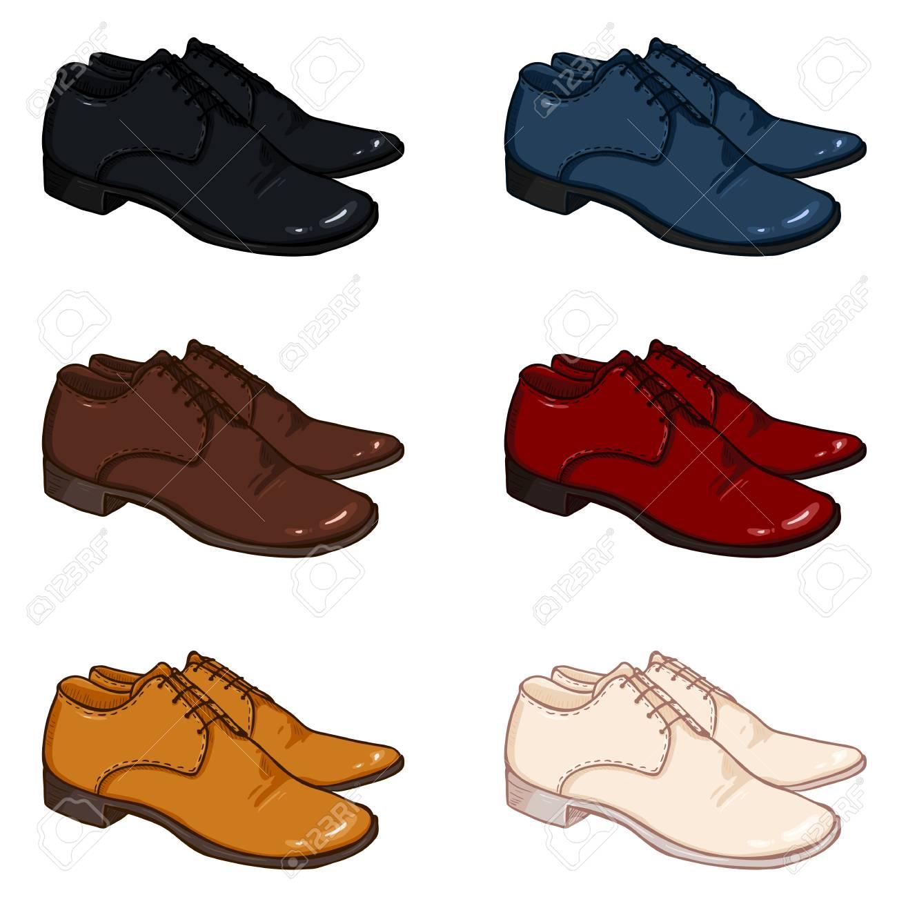 Archivo Animados Variaciones Vector Color Foto Hombres Dibujos De Clásicos Zapatos Conjunto BPwBAf5x