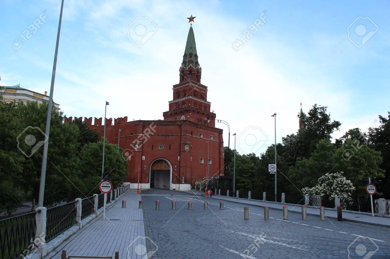 Borovitskaya tower: description and photo 86