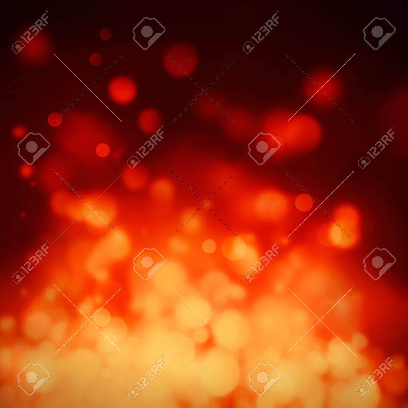 Red and gold  Festive Christmas background. Elegant abstract background with bokeh defocused lights and stars Stock Photo - 16432641