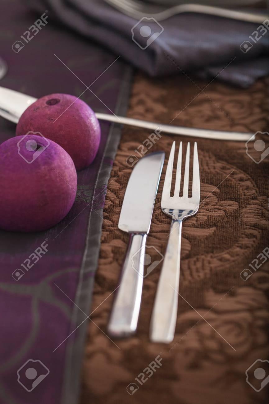 Tischdekoration Fur Das Abendessen Elegantes Gedeck Fur Restaurant