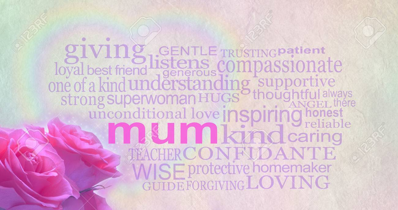 Mothers Day Background Banner