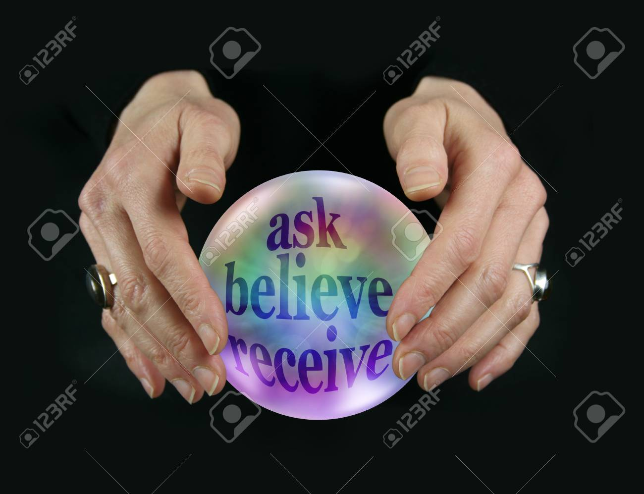 Ask Believe Receive - be careful what you wish for - female fortune