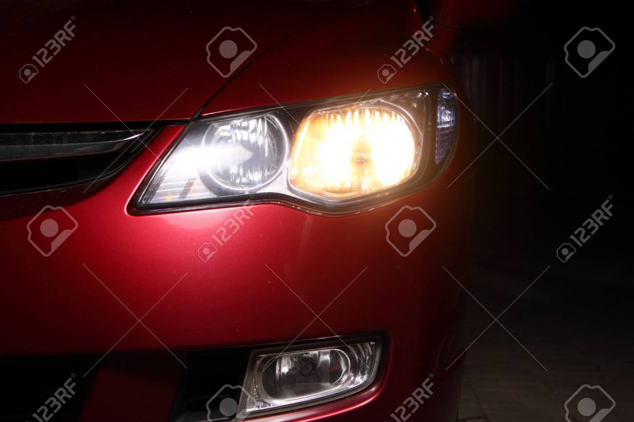 detail of a red sportscar - 4903788