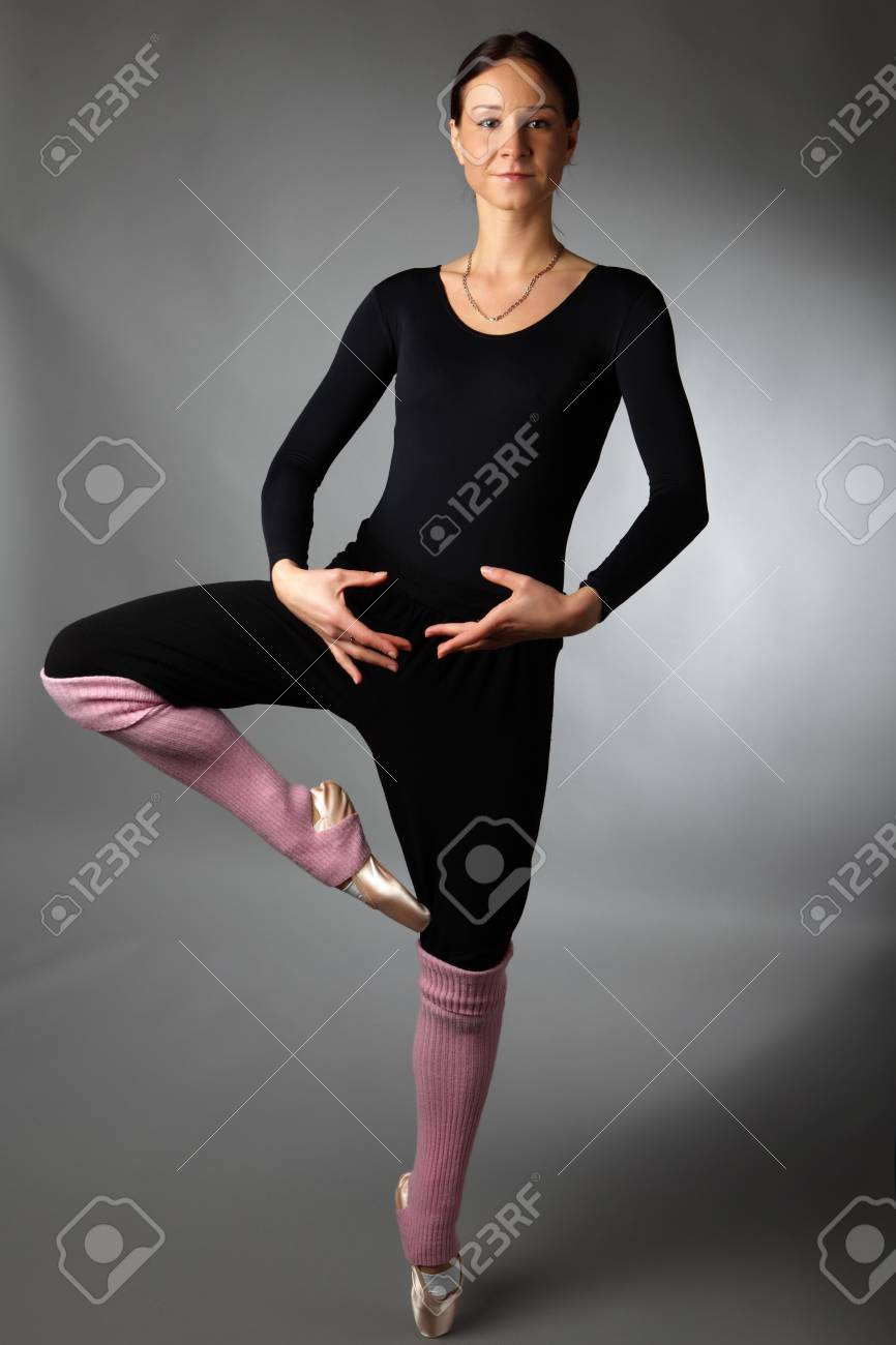 posing ballet dancer Stock Photo - 6068764