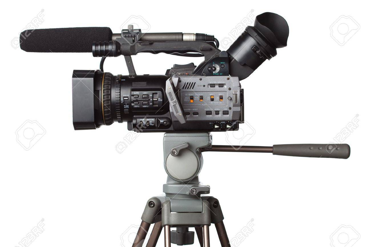 professional full HD camcorder Stock Photo - 6832943